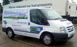 Countrywide signs livery